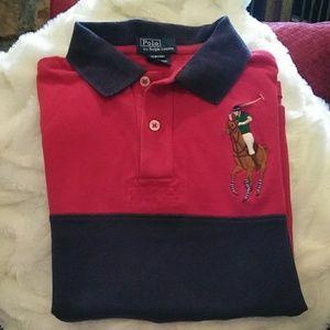 Ralph Lauren polo shirts size 8-10